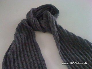 opskrift halstørklæde