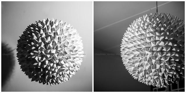 Lampe af flip flaps – design a la chapline