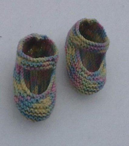 Babysko   strikket